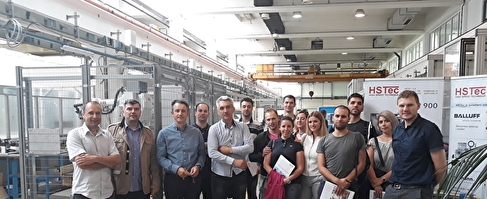 Visiting students from the Faculty of Engineering, University of Rijeka