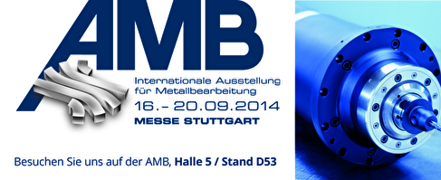 HSTEC exhibits at the fair AMB in Stuttgart